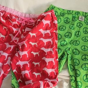 Two pair of Victoria's Secret pajamas
